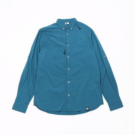 【KLATTERMUSEN】Tyr Shirt_DeepSea_Sサイズ_※SalesmanSample