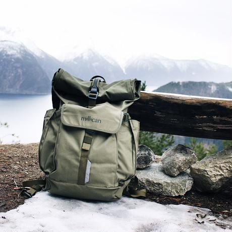 【millican】Smith the Rollpack 25L_Moss