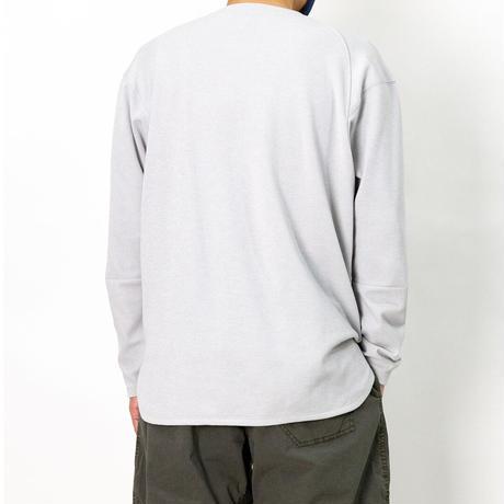 【Tilak+POUTNIK】DEL-Tee L/S  - L.Gray