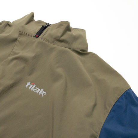 【Tilak+POUTNIK】Falco S/S_Khaki/Denim_Sサイズ_※SalesmanSample