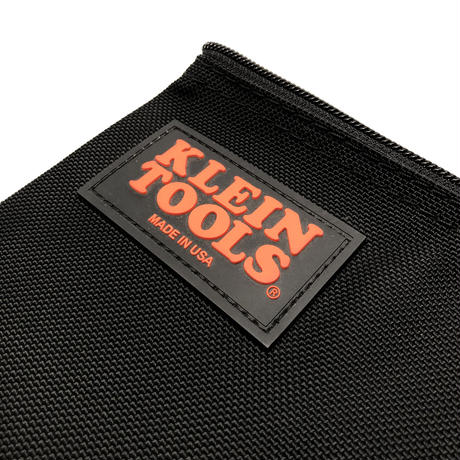 【KLEIN TOOLS】Zipper Bag - Black Nylon