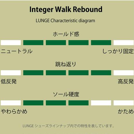 【LUNGE】Integer Walk Rebound M's-Smooth