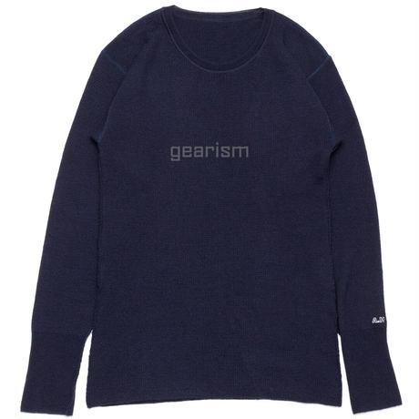 〈A.H〉メリノオプティモのウォッシャブルメリノウール サーマルセーター「A.H sweater 001 」