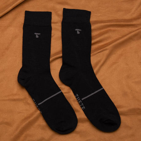【TUFTE】MERINO LIGHT CREW SOCKS - Gray