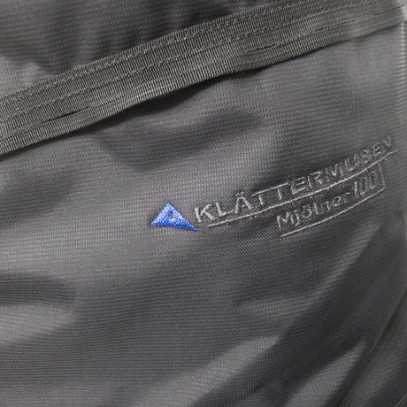 【Klattermusen】Mjolner 2.0 EXPEDITION PACK_Ebony_100L※Salesman Sample