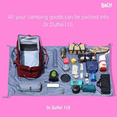 【BACH】Dr.Duffel 110L