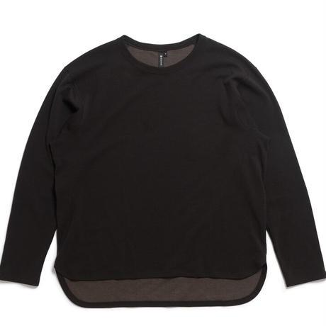 【Tilak+POUTNIK】DEL-Tee L/S  - Black