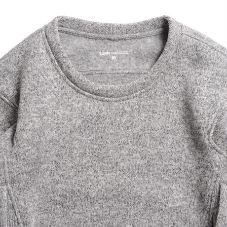 【Tilak+POUTNIK】SAGE Wooly Sweatshirts - L.Gray Melange
