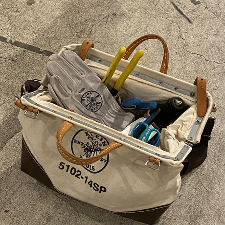 【KLEIN TOOLS】Deluxe Canvas Tool Bag - 14inch