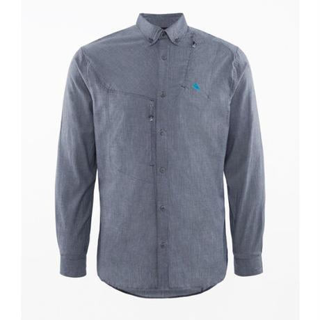 【KLATTERMUSEN】Lofn Shirt_StormBlue