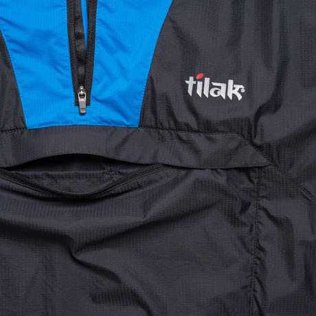 【Tilak+POUTNIK】Odin Light Jacket_Black/BrilliantBlue_Sサイズ_※SalesmanSample