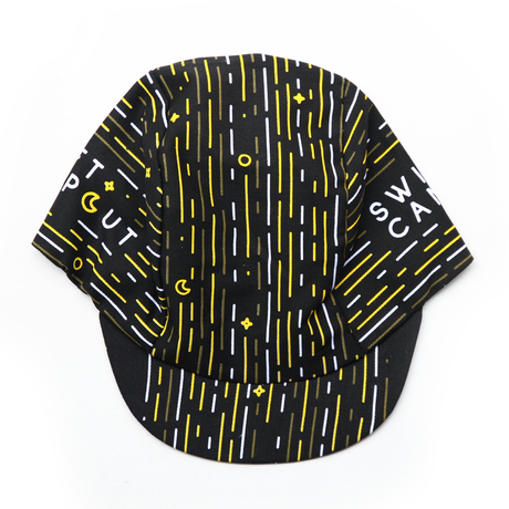 """SWIFT INDUSTRIES"" campout 2019 cycle cap (black)"