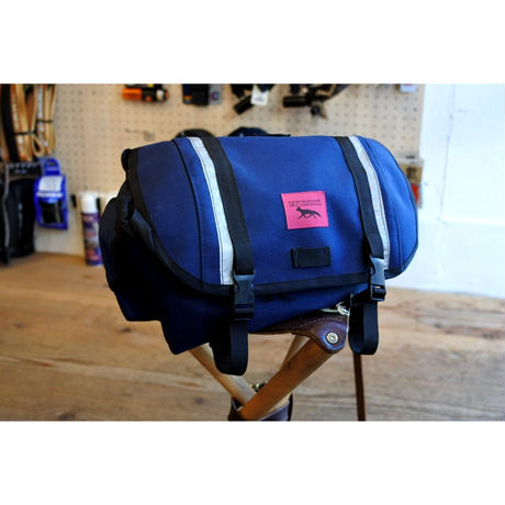 """SWIFT INDUSTRIES"" zeitgeist saddle bag (S/NAVY)"