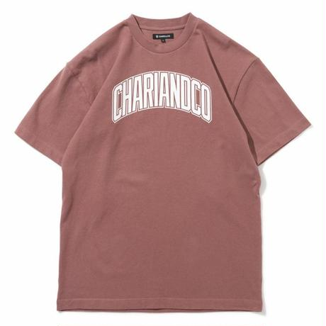 "CHARI&CO ""BRIDGE LOGO TEE"" ローズ"