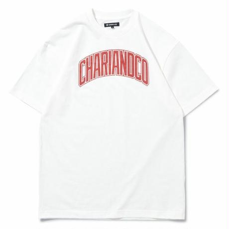 "CHARI&CO ""BRIDGE LOGO TEE"" ホワイト"