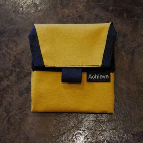 "Achieve Original ""coin case"" イエロー"