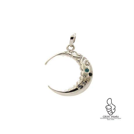 6PC天然石 ~光る月~