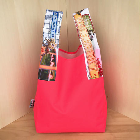 NYLON BAG & POUCH_Neon Orange