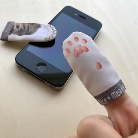 CAT PAW FINGER TIPS for touchscreen