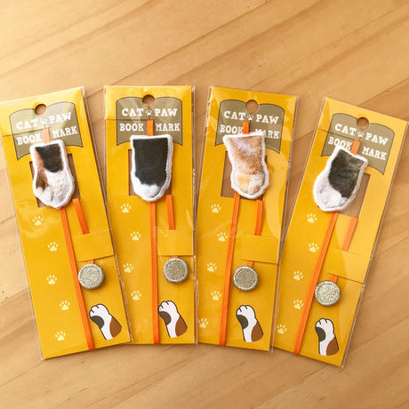 CAT PAW BOOKMARK