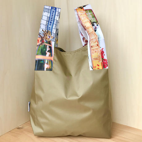 NYLON BAG & POUCH_Khaki