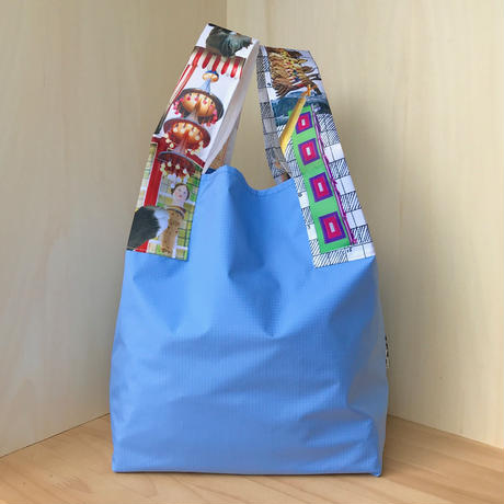 NYLON BAG & POUCH_Blue