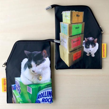 Disturbing Cat Pouch _ Beer Box