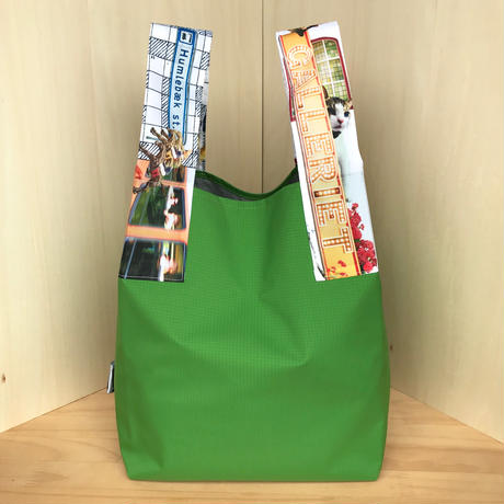 NYLON BAG & POUCH_Grass Green