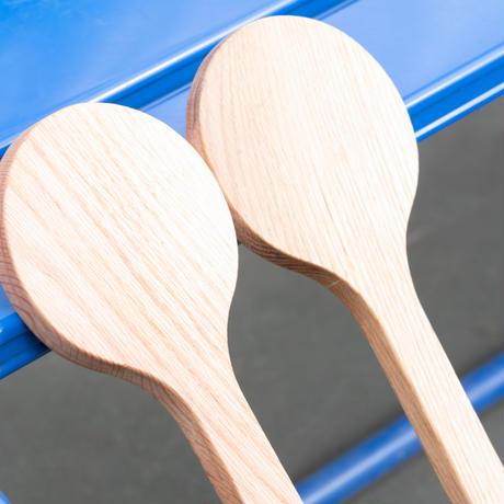 【ウケット・レギュラーサイズ(1本)】-木製テニス練習器具-