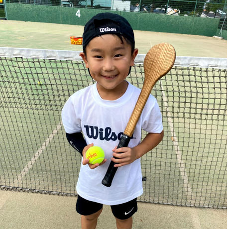 【ウケット1本】尾脇兄弟が使用する木製テニス練習器具!