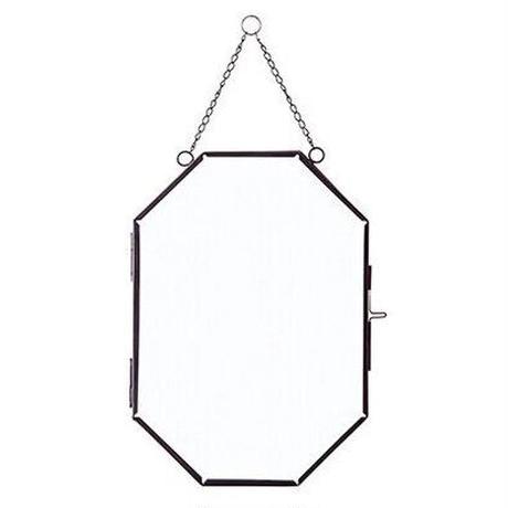 ガラスフレーム Large 八角形