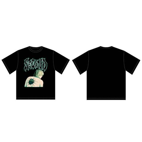 【再販】はやしんプロデュースTシャツ+オリジナルメッセージ付ブロマイド【オンラインイベント無し】