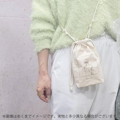 星那プロデュースショルダーポーチ+サイン入りチェキ【オンラインイベント無し】
