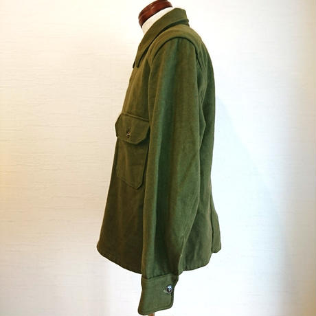 【US.Army 50´S M-51 Wool Shirt used】アメリカ軍  50´S M-51 ウールシャツ  uesd