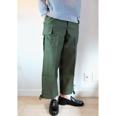 【Belgium Army M-88 Field Pants Remake Pocket DeadStock】ベルギー軍 M-88 フィールドパンツ リメイクポケット DeadStock