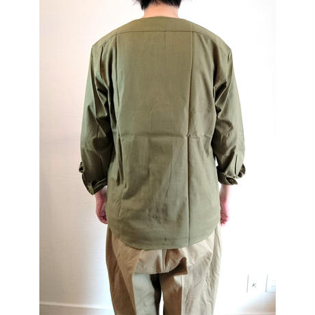 【Romania Military Sleeping Shirts DeadStock 】ルーマニア軍 スリーピングシャツ DeadStock