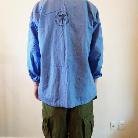 【US.Army 40's Hospital Shirts DeadStock】アメリカ軍 40's ホスピタルシャツDeadStock
