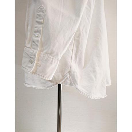 【Audience/オーディエンス】6オンスオックスフォード プルオーバー ボクシーシャツ ホワイト