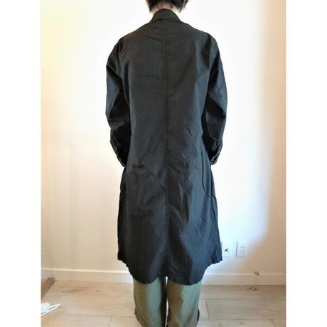 【US.Army 80's Inspector Coat DeadStock Fabric Dyeing】アメリカ軍 80's インスペクターコート DeadStock 後染め ブラック