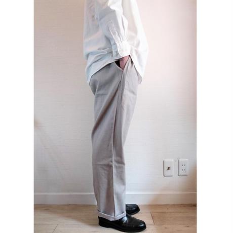 【HOLD FAST/ホールドファスト】Chef  Linen Trousers シェフ リネントラウザーズ グレー