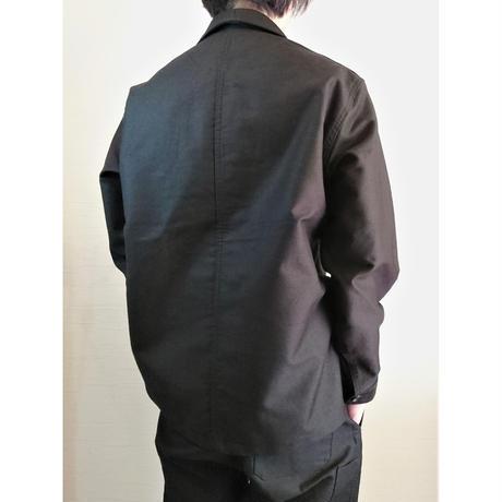 【Le Sans Pareil/ル サン パレイユ】コットンモールスキン トラディショナル ダブルカバーオール ブラック