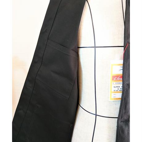 【Le Sans Pareil/ル サン パレイユ】コットンツイル トラディショナル カバーオール ブラック