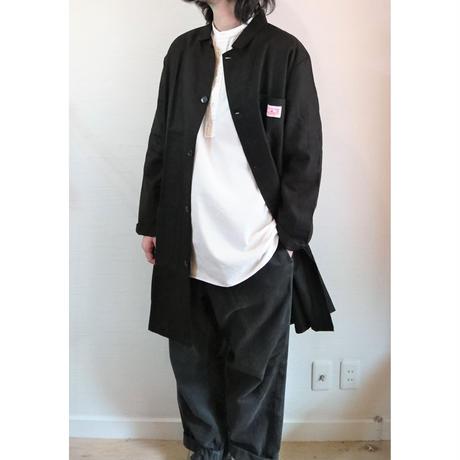 【HOLD FAST/ホールドファスト】Warehouse Linen Coat ウエアハウス リネンコート ブラック