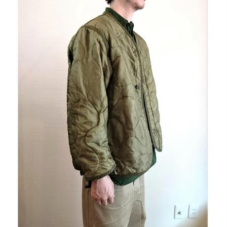 【US. Army M-65 Field Jacket Quilting Liner Used】アメリカ軍 M-65 フィールドジャケット キルティングライナー Used