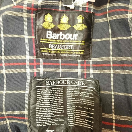 【Yoused/ユーズド】Remake&Oilout  Barbour/リメイク&オイルアウト バブアー サイズ38 ネイビー