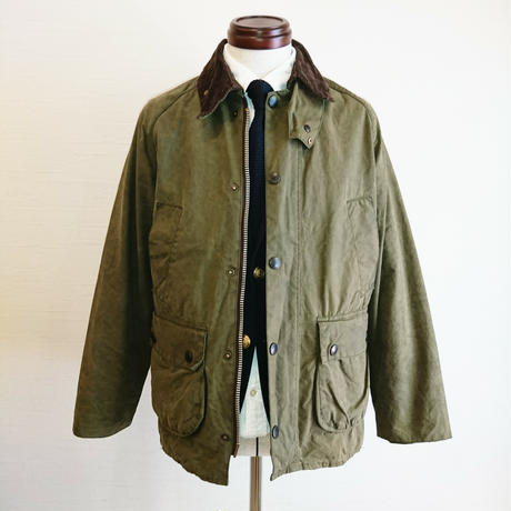 【Yoused/ユーズド】Remake&Oilout  Barbour/リメイク&オイルアウト バブアー サイズ36 オリーブ