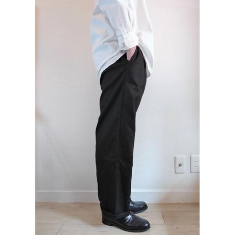 【HOLD FAST/ホールドファスト】Chef  Linen Trousers シェフ リネントラウザーズ ブラック