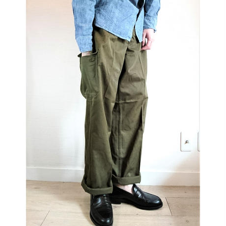【Czech Army M-85 Cargo Pants DeadStock】チェコ軍 M-85 カーゴパンツ DeadStock