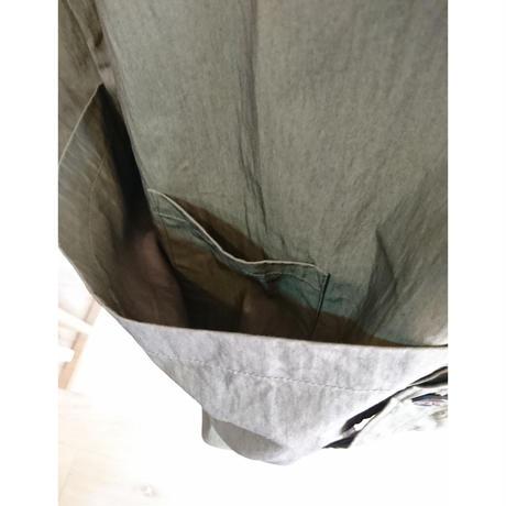 【Audience/オーディエンス】グリストーンW コットンナイロン高密度ギャバ ガーデニングコート オリーブ