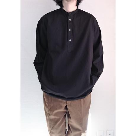 【Audience/オーディエンス】6オンスオックスフォード プルオーバー ボクシーシャツ ブラック